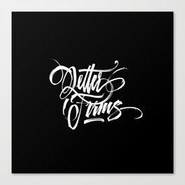 Letter Forms Canvas Print
