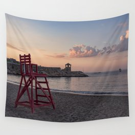 Front Beach After Hours Wall Tapestry