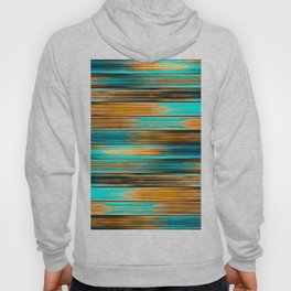 Silky Metal Ribbons Pattern Hoody