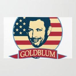 Goldblum For President Rug