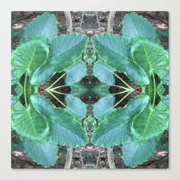 461 - Abstract Plant design Canvas Print