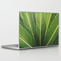 palm tree Laptop & iPad Skins featuring palm tree by Life Through the Lens