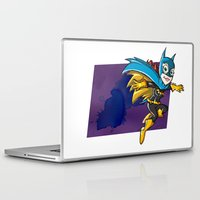 batgirl Laptop & iPad Skins featuring Batgirl! by neicosta