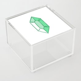Green Crystal Acrylic Box