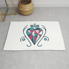 King of Hearts Rug