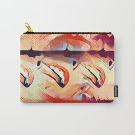 Three licking ladies Carry-All Pouch