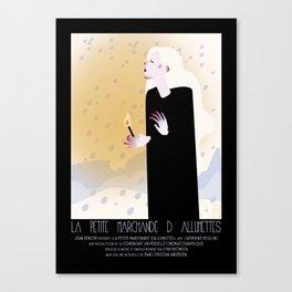 La Petite Fille aux Allumettes Canvas Print