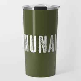 Deer: Nunavut, Canada Travel Mug