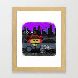 Phonobot - 03 Framed Art Print