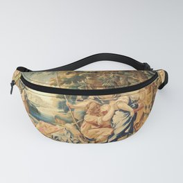 Chariclea Led Away by Pirates (ca. 1634-35), tapestry from he workshop of Raphael de la Planche based on design by Simon Vouet Fanny Pack