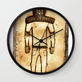 The Diver Wall Clock