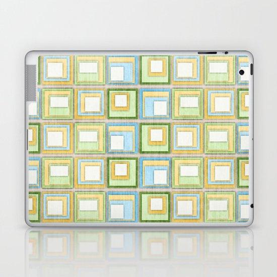 English Country Tiles. Laptop & iPad Skin