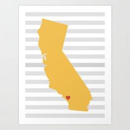 Temecula, California  Art Print