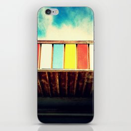 Colorful Awning iPhone Skin