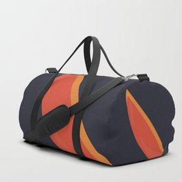 Abstract sailboat Duffle Bag
