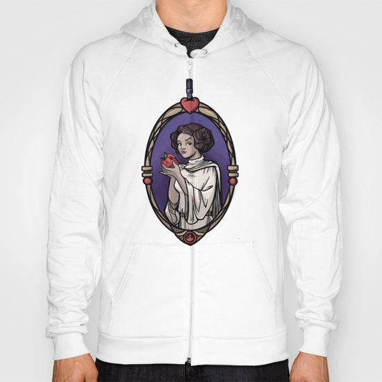 Snow Organa and the Poisoned Death Star Hoody
