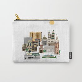 Kansas City Plaza Carry-All Pouch