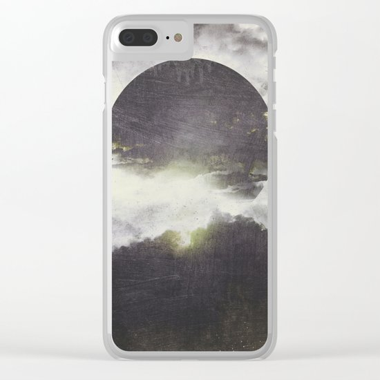 Today is a different day Clear iPhone Case