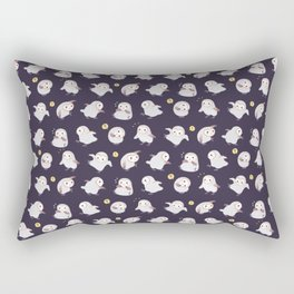 Baby Barn Owls - dark Rectangular Pillow