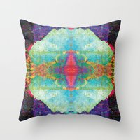 pool Throw Pillows featuring Pool by remy dixon