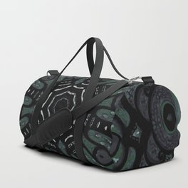 Dark Mandala #4 Duffle Bag
