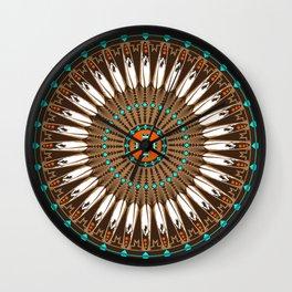 Pow Wow (Wacipi) Wall Clock