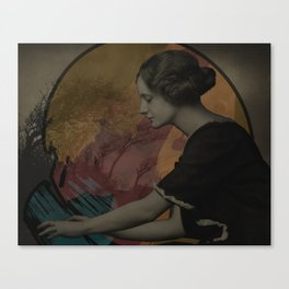 Conjure the Moon Canvas Print