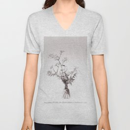 A bouquet of Cow parsley Unisex V-Neck