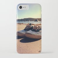 vans iPhone & iPod Cases featuring Beached Vans by Zakvdboom Designs