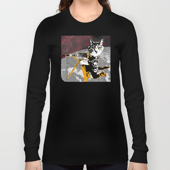 Cat Explorer 2 Long Sleeve T-shirt