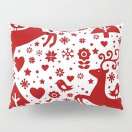 Scandinavian Christmas pattern Pillow Sham