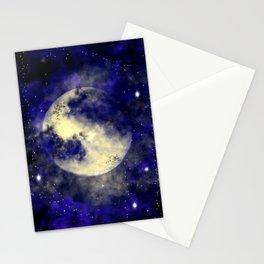 October Full Moon Stationery Cards