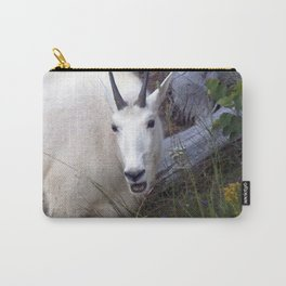 Watercolor Mountain Goat 25, Yellowstone, Wyoming Carry-All Pouch