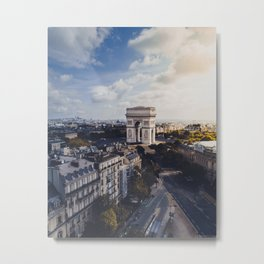 Arc De Triomphe, Paris Metal Print