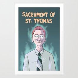 Sacrament of St. Thomas Art Print