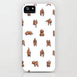 Wooferland: Wooferdog pattern iPhone Case