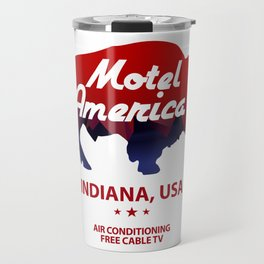 Motel America - American Gods Travel Mug