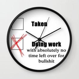 Do Work Wall Clock