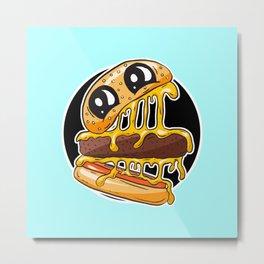 Fast Food FRENZY - Cheezy Karen Metal Print