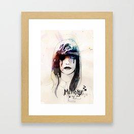 My Memory Of You Framed Art Print