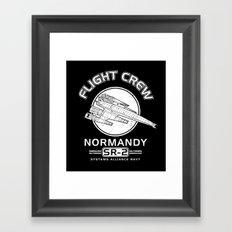 Normandy Flight Crew Framed Art Print