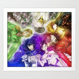 The Six Art Print