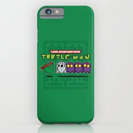 Hero in a Pac-Shell (Raph) iPhone Case