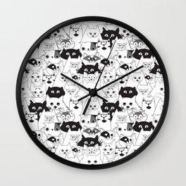 Gatuno world Wall Clock