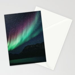 Aurora / Northern Lights II Stationery Cards