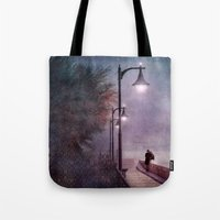 italian Tote Bags featuring ITALIAN LOVE by INA FineArt