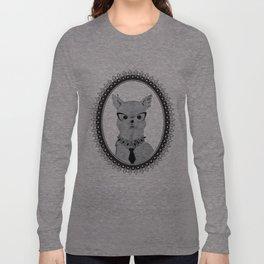 Naughty Parisienne Long Sleeve T-shirt