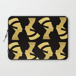 -BEQUEEN IN GOLD Laptop Sleeve