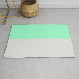 Mint Julep & Ice #2 Rug