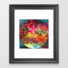 1 cyrc Framed Art Print